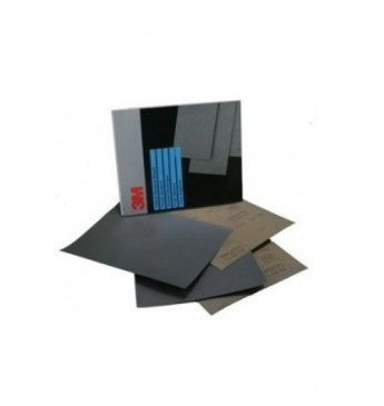 3M™ Popierius šlapiam šlifavimui P600, 230x280mm, 1 lapelis (pakuotę sudaro 25 vnt.)