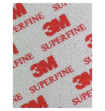 3M™ Šlifavimo kempinė Super Fine  115x140mm, 1 lapelis (pakuotę sudaro 20 vnt.)