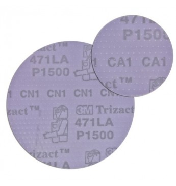 3M™ Trizact diskas P1500  150mm, 1 diskas (pakuotę sudaro 25 vnt.)
