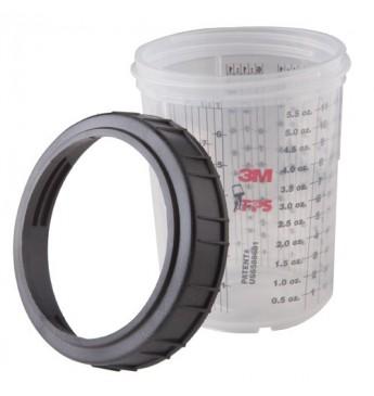 3M™ Puodelis su žiedu 180ml