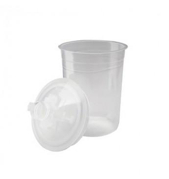 3M™ PPS indelis 400 ml su dangteliu 125 mikronų, 1 indelis (pakuotę sudaro 50 vnt.)