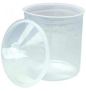 RINKINYS: 3M™ PPS 650ml. 50 puodelių+75 dangtelių (125 mikronų)