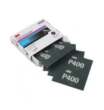 3M™ Lankstus šlifavimo lapas P400  140x171mm, 1 lapas (pakuotę sudaro 25 vnt.)