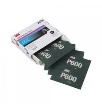 3M™ Lankstus šlifavimo lapas P600  140x171mm, 1 lapas (pakuotę sudaro 25 vnt.)