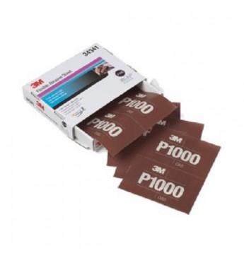3M™ Lankstus šlifavimo lapas P1000  140x171mm, 1 lapas (pakuotę sudaro 25 vnt.)