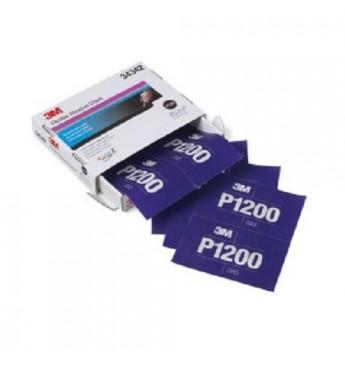 3M™ Lankstus šlifavimo lapas P1200  140x171mm, 1 lapas (pakuotę sudaro 25 vnt.)