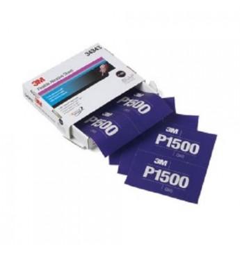 3M™ Lankstus šlifavimo lapas P1500  140x171mm, 1 lapas (pakuotę sudaro 25 vnt.)