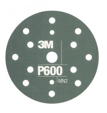3M™ Flexible Hookit™ diskas P600 150mm, 1 diskas (pakuotę sudaro 25 vnt.)
