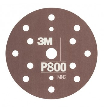 3M™ Flexible Hookit™ diskas P800 150mm, 1 diskas (pakuotę sudaro 25 vnt.)