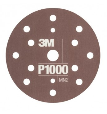 3M™ Flexible Hookit™ diskas P1000 150mm, 1 diskas (pakuotę sudaro 25 vnt.)