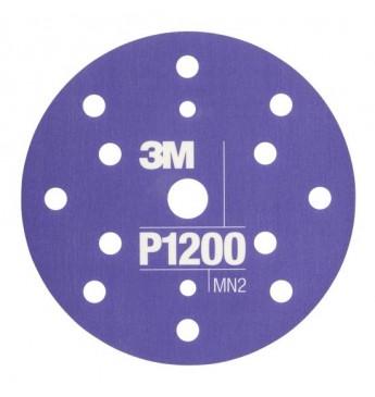 3M™ Flexible Hookit™ diskas P1200 150mm, 1 diskas (pakuotę sudaro 25 vnt.)