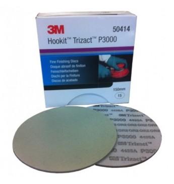 3M™ Trizact diskas P3000 150 mm, 1 diskas (pakuotę sudaro 15 vnt.)
