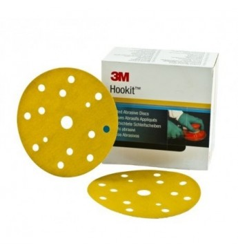 3M™ Hookit™ diskas P120  150mm (100 vnt.)