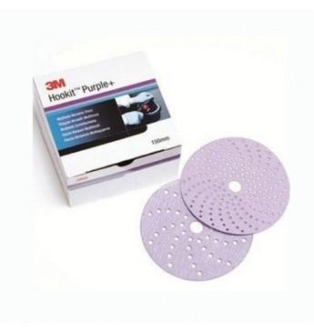 3M™ Purple+ diskas P240  150mm, 1 diskas (pakuotę sudaro 100 vnt.)