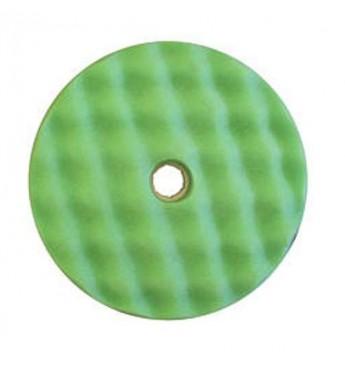 3M™ Dvipusė žalia gofruota poliravimo kempinė 150 mm greitos fiksacijos