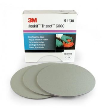 3M™ Trizact diskas P6000 150mm, 1 diskas (pakuotę sudaro 15 vnt.)