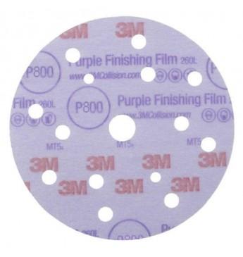 3M™ Purple diskas P800 150mm 15sk, 1 diskas (pakuotę sudaro 50 vnt.)