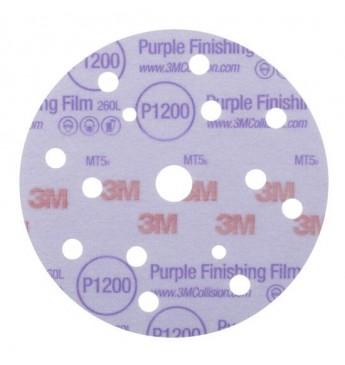3M™ Purple diskas P1200 150mm 15sk, 1 diskas (pakuotę sudaro 50 vnt.)