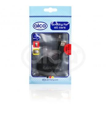 Laidas USB-C, 1,0m, juodas