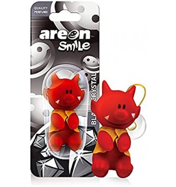AREON Smile toy - Black Crystal oro gaiviklis