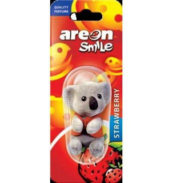 AREON Smile toy - Strawberry oro gaiviklis