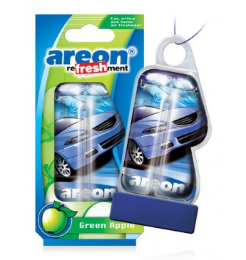 Areon auto oro gaiviklis LIQUID - Green Apple