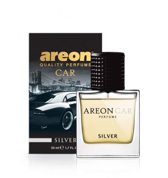 AREON CAR PERFUME - Silver, 50ml