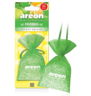AREON PEARLS - Lemon Squash oro gaiviklis