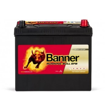 Banner EFB 55Ah 460A akumuliatorius 12V 238x129x203x225mm