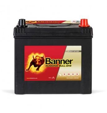 Banner EFB 65Ah 550A -+ akumuliatorius 12V, 233x173x203/225mm