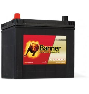 Banner EFB 65Ah 550A +- akumuliatorius 12V, 233x173x203/225mm