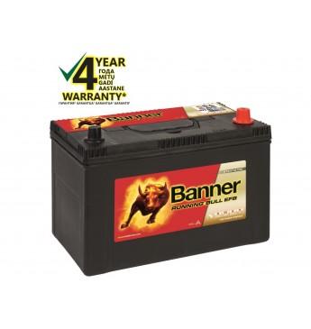 Banner EFB 95Ah 760A RUNNING BULL akumuliatorius 12V 303X173X203/225mm