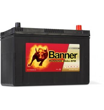 Banner EFB 95Ah 760A akumuliatorius 12V 303X173X203/225mm