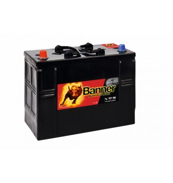 Banner 125Ah 760A +- 12V Buffalo Bull akumuliatorius 345x172x260/283mm