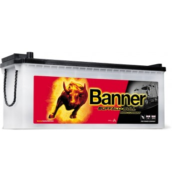 Banner 150Ah 1150A Buffalo Bull HIGH CURRENT akumuliatorius 514x189x195/220mm