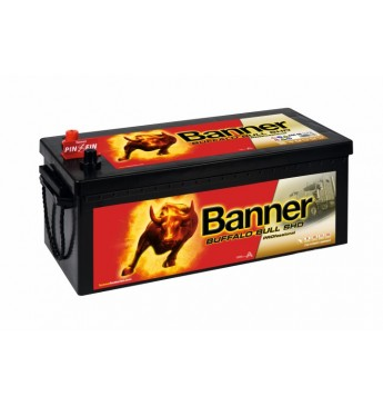 Banner 180Ah 1000A Buffalo Bull PRO akumuliatorius 12V 514x223x195/220