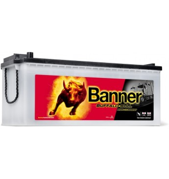 Banner 180Ah 1400A Buffalo Bull HIGH CURRENT akumuliatorius 12V 514x223x195/220