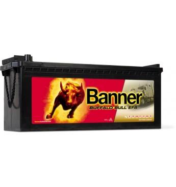 Banner 190Ah 1050A Buffalo Bull EFB akumuliatorius 12V 514X223X195/220MM