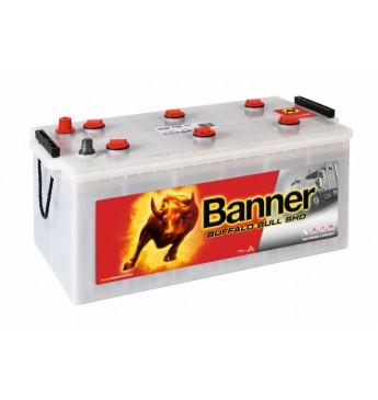 Banner 225Ah 1150A Buffalo Bull SHD akumuliatorius 12V 517x273x212/240mm
