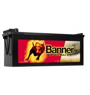 Banner 240Ah 1200A Buffalo Bull EFB akumuliatorius 12V 517X273X212/240MM