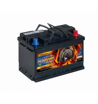 B-POWER 55Ah 450 EN akumuliatorius 12V 241x175x175mm