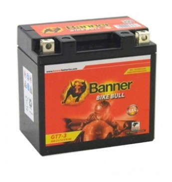 Banner GEL 6Ah 98A Bike Bull akumuliatorius 12V 114x71x106mm