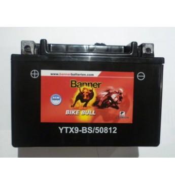 Akumuliatorius Banner 8 Ah Bike Bull AGM 12V 90A 150x87x105mm