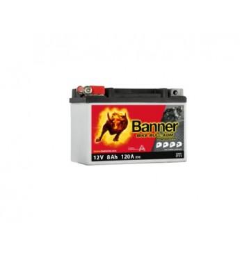 Banner 8Ah Bike Bull PRO 12V 120A akumuliatorius 150x88x106mm