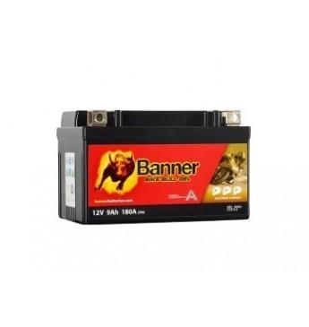 Banner 9Ah Running Bull AUX9 12V 180A akumuliatorius 150x86x94mm