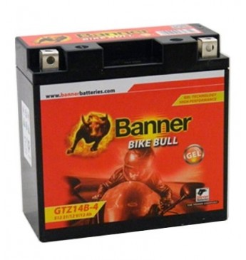 Banner GEL 11Ah 172A Bike Bull akumuliatorius 12V 150x87x110mm