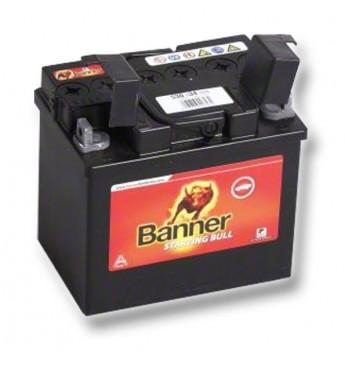 Banner 30Ah 300A Bike Bull akumuliatorius 12V 187x128x165x165mm
