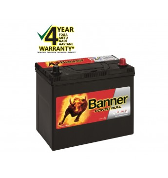 Banner 45 Ah 390A -+ 12V Power akumuliatorius 238x129x203/225mm