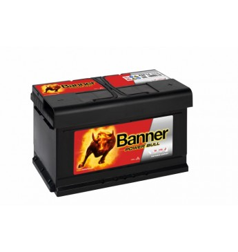 Banner 80Ah 700A 12V Power Bull akumuliatorius 315x175x175x175mm