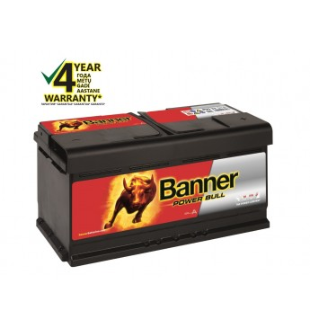 Banner 95Ah 780A 12V Power Bull akumuliatorius 354x175x190x190mm